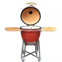 Buy cheap 21 Inch Red Brown Shiny Ceramic Grill from wholesalers