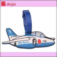 China Premium Gift 3D rubber luggage tag for promotional gift wholesale