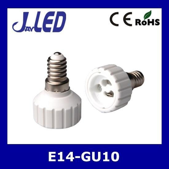 Quality E14 to GU10 lamp holder adapter for sale
