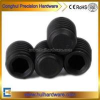 China Hexagon Socket Set Screw with Flat Point DIN913 wholesale