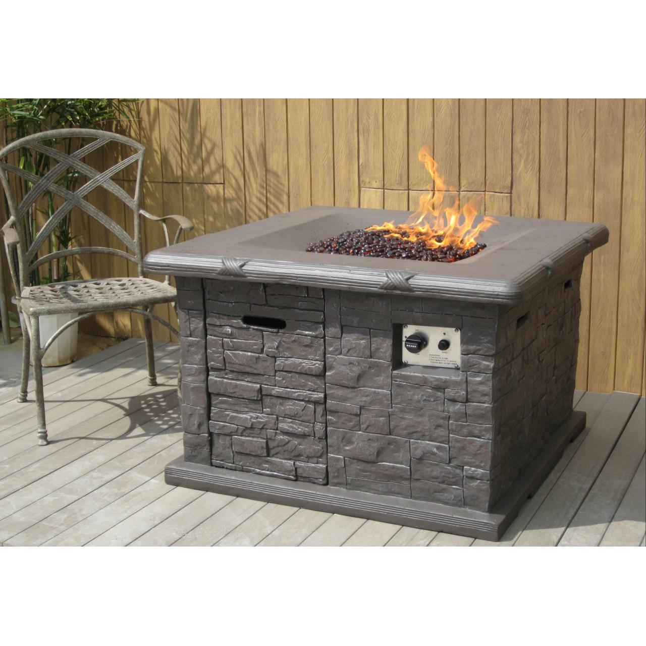 China Item: 5107 Tabletop Fire Urn Gas Propane Fire Pit wholesale