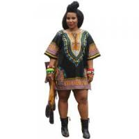 Buy cheap Sales Promotion Polyester Dashiki Shirt with Pockets 21422-6 from wholesalers