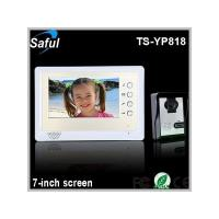 China Saful TS-YP818 7-inch TFT LCD wired video door phone unlocking on sale