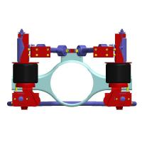 China Product: Joist beam type rear air ride suspension for bus wholesale