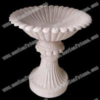 China NLMFP-002 Marble Flowerp wholesale