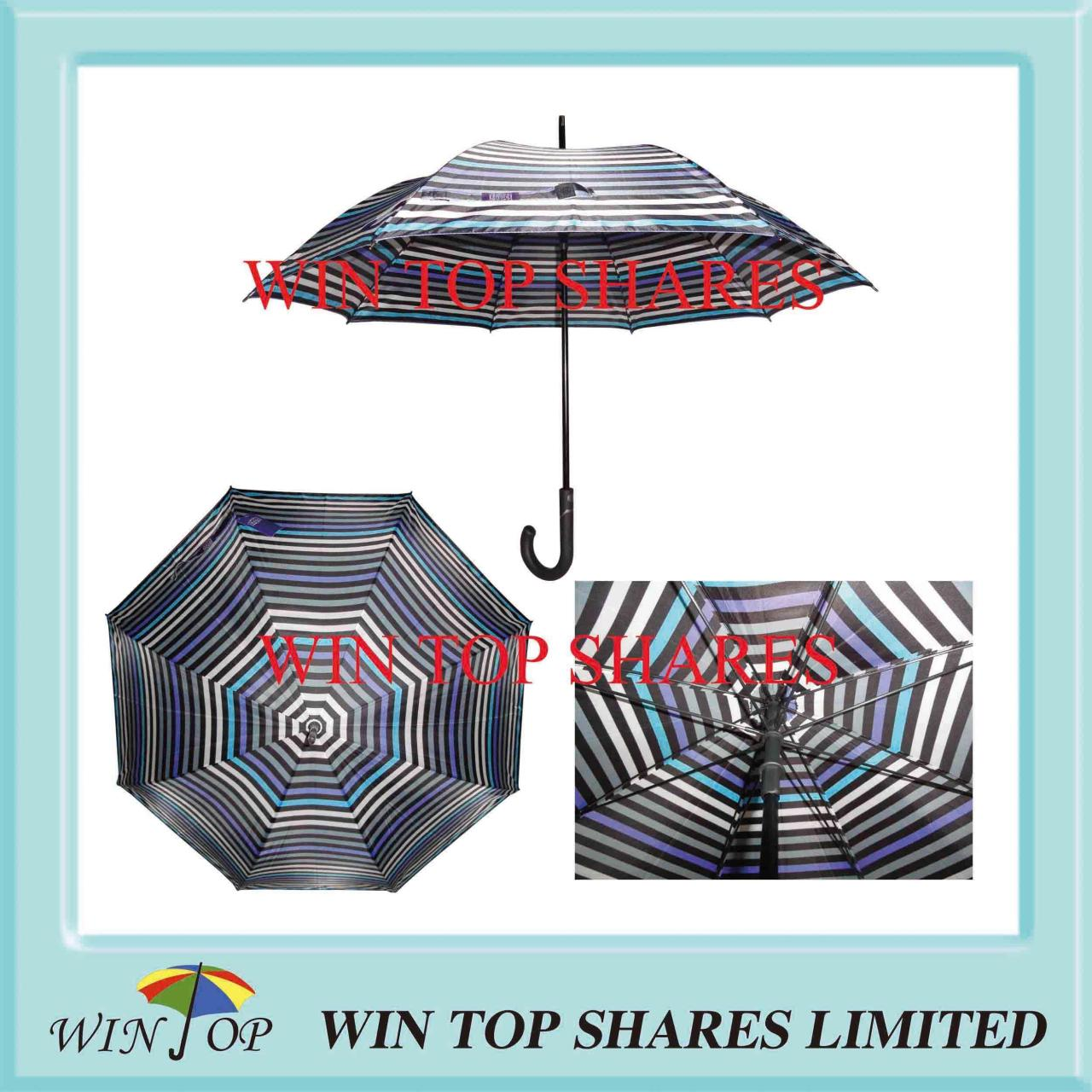 Buy cheap Stripe Diagram and Drawing Patent Automatic Umbrella from wholesalers