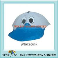 Buy cheap Grey and Blue Duck Pattern Cartoon Umbrella from wholesalers