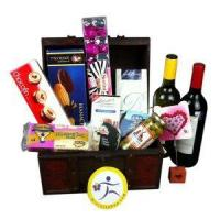 China China Christmas gift baskets send Christmas gift basket to China NO.55 wholesale
