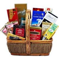 China China Christmas gift baskets Best Wishes Walkers Cookies.NO.46 delivery christmas hamper wholesale