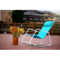 China Foldable Outdoor Rocker Oxford Fabric Chair with Pillow wholesale