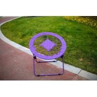 China Bungee Folding Moon Chair Blue wholesale