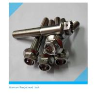 China Titanium Drilled Head Bolts wholesale