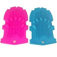 Buy cheap RENJIA silicone glove mold Silicone Massage Bath Gloves silicone glove mitt from wholesalers