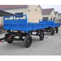 China Tandem 2 Axle 4 Or 8 Wheels Tractor Tipping Trailers Long-term effective wholesale
