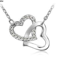 Buy cheap With A Heart Necklace - Lovers Heart Knot from wholesalers