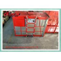 China 34m/Min Double Cage Hoist Passenger And Material Hoist With 2000KG Capacity wholesale