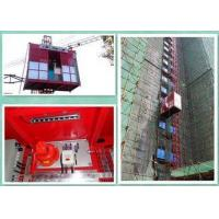 China Material And Passenger Builders Lift For Construction Site 37 Kw Invertor Power wholesale