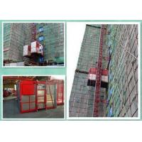 Buy cheap Energy Saving Construction Building Hoist Single Cage / Double Cage from wholesalers