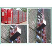 Buy cheap High Efficiency Building Site Hoist , Construction Elevator 2000kg Capacity from wholesalers