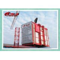 Buy cheap Building Site Industrial Elevators And Lifts , Man Material Hoist High Power from wholesalers