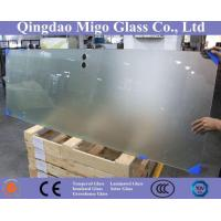 China Frosted Tempered Glass /Acid Etched Tempered Shower Glass for 4-15mm wholesale