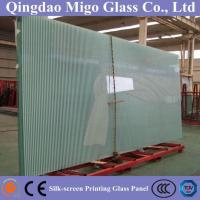 China Decorative Painted / Silk Screen Printed Toughened / Tempered Glass wholesale