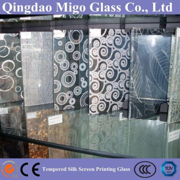 Quality Screen-Printed Glass for sale