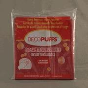 "China Scarlet Decopuffs 5.5"" x 5.5"" (22) Left in stock AA5 wholesale"