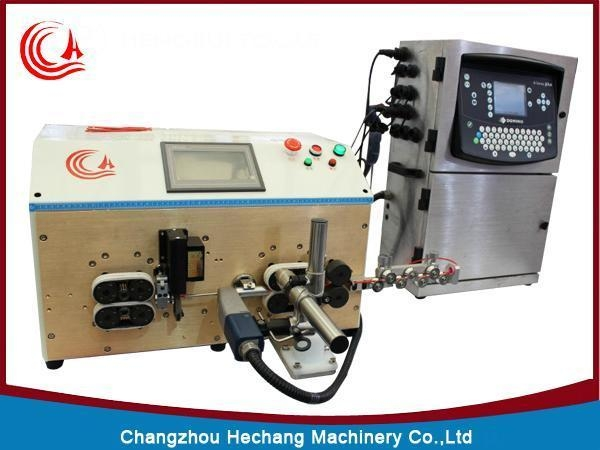 Quality Cable Cut And Strip Inkjet Marking Machine 608PMJ for sale