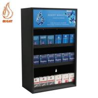 China Display Stands Metal Cigarette Display With Pusher wholesale