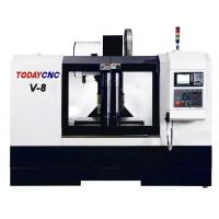 China Hobby CNC 5 Axis High Speed Vertical Lathe Machine Precision Milling Machining Center V-8 wholesale