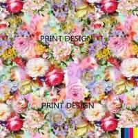 Buy cheap digital cotton printed fabric391 from wholesalers