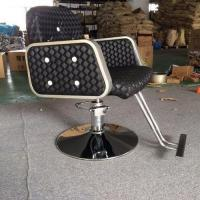 China hot sale female barber chairs hydraulic barber styling chairs makeup salon barber armchair wholesale