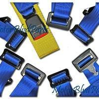 China Accessories 4Point Racing Seat Belt Shoulder Restraint Harness Blue on sale