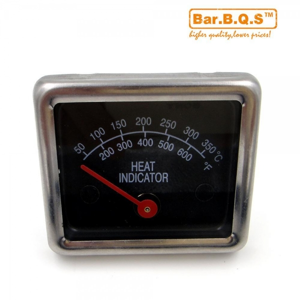 Quality 01T05 BBQ Smoke Grill Thermometer Gauge Temp Barbecue for sale