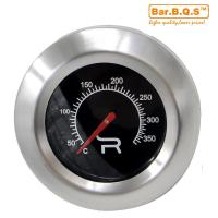China 01T06 Bar.B.Q.S Grill / Smoker BBQ Oven Thermometer Cooking Temperature Round Shape wholesale