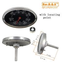01T11 Bar.B.Q.S Outdoor Stainless Steel BBQ Oven Thermometer Temp Gauge