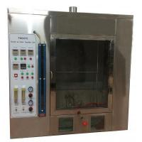 China TN1938 Horizontal and Vertical Flammability Tester,Plastic Combustion Testing Chamber wholesale