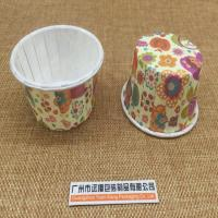 China J-11: Circle Paper Printing Cake Mini Dessert Edge Film Cup on sale