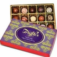 China chocolate&cartoon gift Mothers Day 1/2 Lb Assorted Truffle Box.No.37 delivery gift to s wholesale