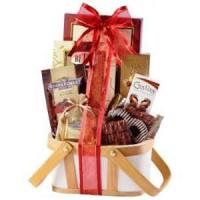 chocolate&cartoon gift Gourmet Chocolate Gift Basket.No.26 delivery gift to australia s