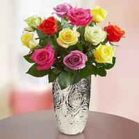 Buy cheap Valentine's Day One Dozen Assorted Roses.No.97 send flower to australia sydney from wholesalers