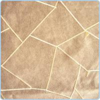 China Micro Suede Fabric Embroidered weft suede on sale