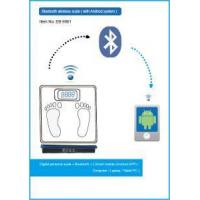China Bluetooth wireless scale Bluetooth wireless scale with Android system on sale