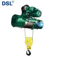 Buy cheap CD1/MD1 Model Electric Wire Rope Hoist with Trolley or Fixed Type from wholesalers