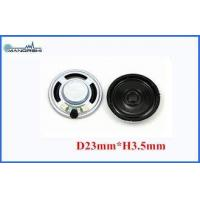 Buy cheap 0.25w Or 0.5w Condenser Microphone Mini Mylar Speaker 8ohm For Portable Player from wholesalers
