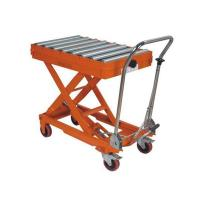 China Hydraulic platform trolley on sale