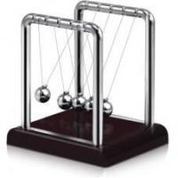Elegant Newtons Cradle - Red Base