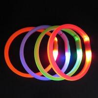 China Eco-friendly Silicone USB Rechargeable Battery Waterproof LED Lighted Dog Collar wholesale