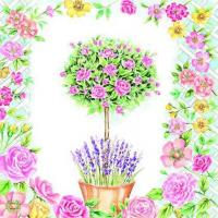 China S315 RoseTree, Lavender & Rose Trellis (for 6 cards) wholesale